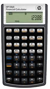 Finance Calculator Calculators Hp 10bii Financial Calculator Brand New