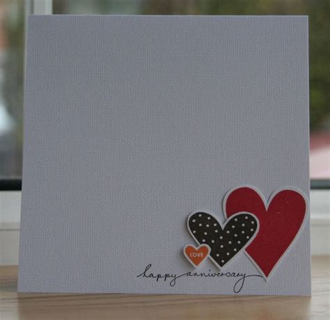 Handmade Gifts For Anniversary - best 25 anniversary cards ideas on