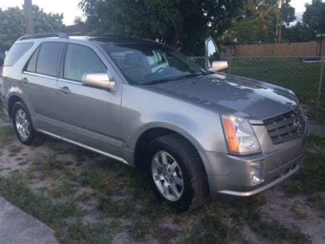 automobile air conditioning service 2006 cadillac srx parking system buy used 2006 cadillac srx suv in hialeah florida united states for us 6 500 00