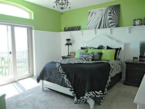 girls zebra bedroom cute girls and teen rooms design dazzle