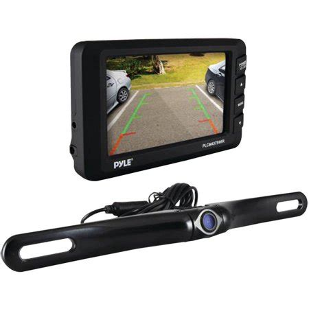 """pyle plcm4375wir 4.3"""" lcd monitor and wireless rearview"""