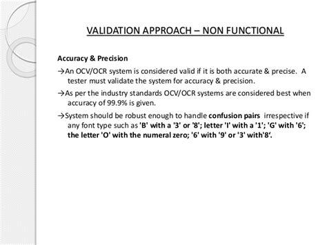 pattern matching validation ocv ocr a validation perspective