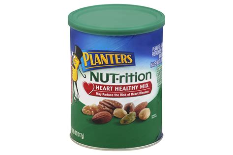 Planters Healthy Mix by Planters 174 Nut Rition Healthy Mix 18 25 Oz Kraft