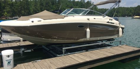 floating a boat lift hydrohoist floating boat lifts and pwc lifts