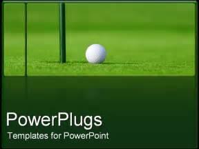 golf powerpoint templates powerpoint template golf next to in green golf