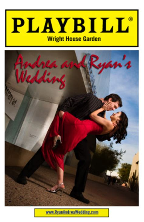 Guest Author At Weddingbee Page 6 Of 8 Playbill Template Inside