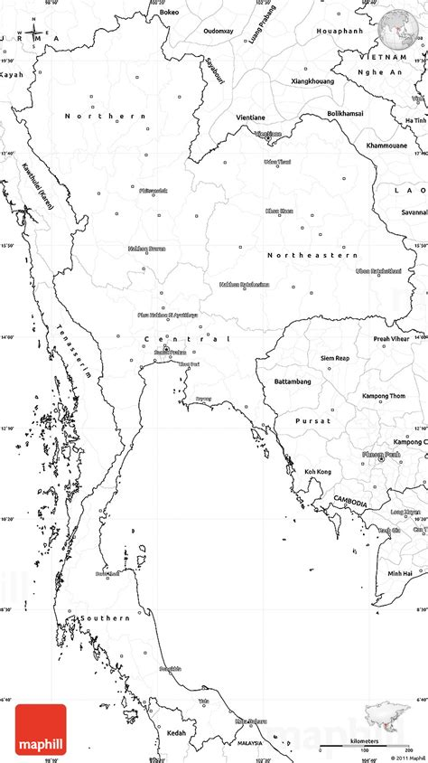 printable map thailand printable map of thailand printable maps