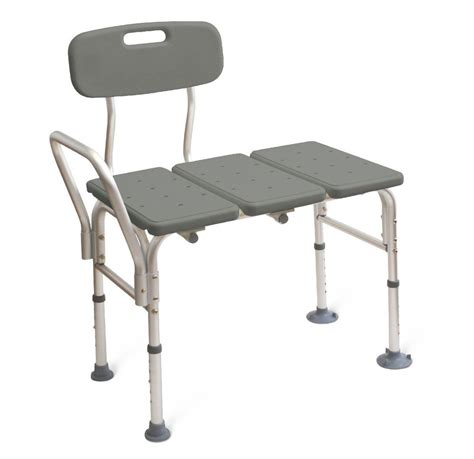 transfer bench shower chair bathroom bath tub transfer bench chair shower seat ebay