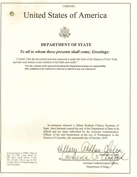 Us Department Of State Authentications Cover Letter fbi apostille clearance info color resume