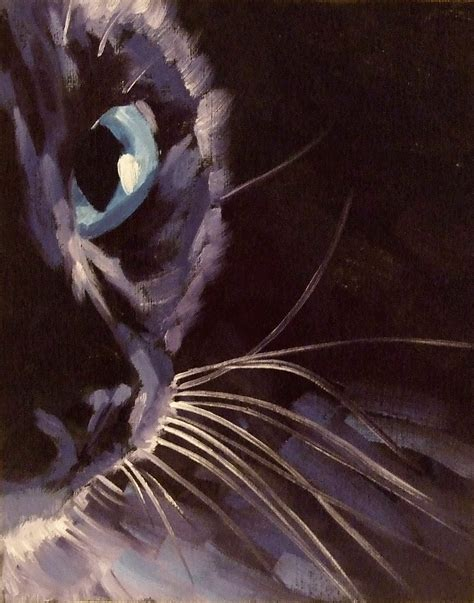 painting cat whiskers your paintings from the whiskers