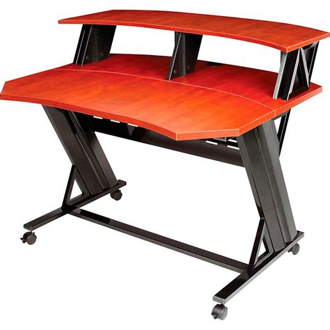 studio trends 46 desk studio trends stld46 large 46 quot studio desk multi box music123