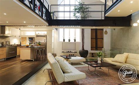 Interior Courtyard Floor Plans Paris Apartment Rentals Movie Loft Ultra Deluxe 3 Br