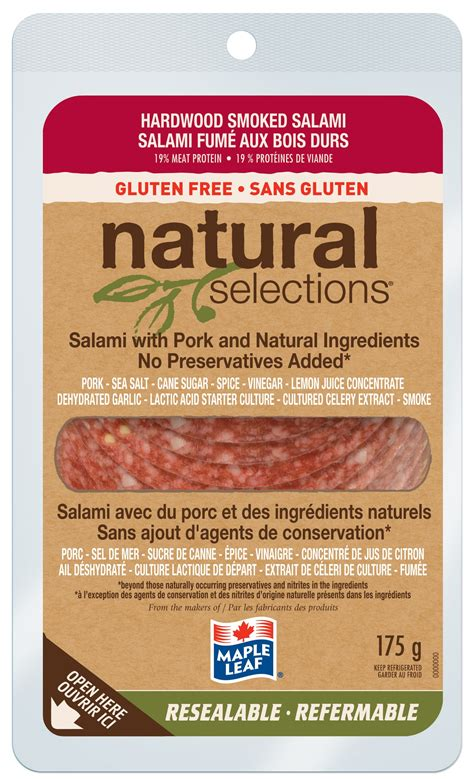 can dogs eat salami maple leaf 174 selections 174 hardwood smoked salami maple leaf foods
