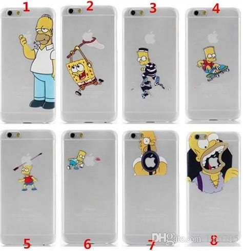 Casing Samsung Galaxy 1 The Simpsons Apple Custom Hardcase wholesale for iphone 6 iphone 6 plus the homer