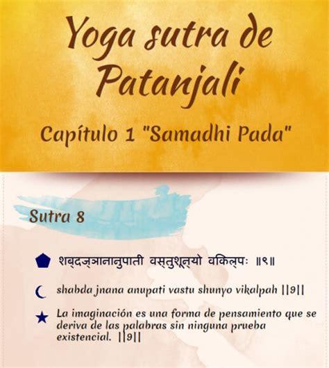 libro yogasutra los aforismos yoga sutras de patanjali aforismo 9