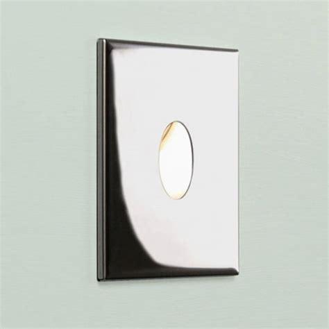 Recessed Led Bathroom Lighting Square Chrome Recessed Led Wall Light For Indoors Ip65 Bathroom Safe