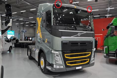 volvo fh sleeper  fh missing roof sidelight scs software