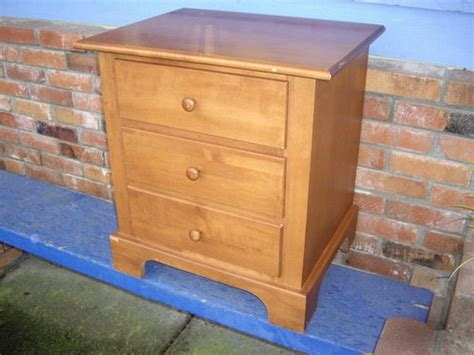end tables with drawers canada nadeau small wood 3 drawer dresser end table made in