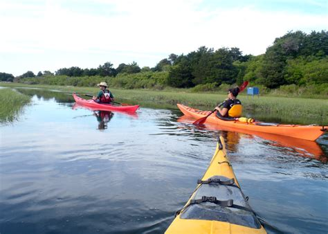 kayak cape cod paddling and pedaling cape cod for summer