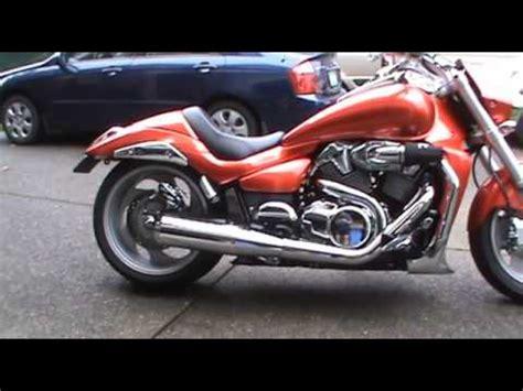 Suzuki M109r Exhaust Suzuki M109r Sideburner Exhaust Idle Revs Doovi