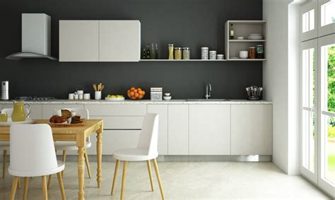 straight line kitchen kitchen wall shelf design buy carmen straight kitchen online in india livspace com