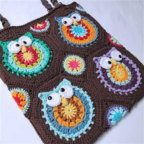 owl tote bag pattern free diy crochet owl tote pattern 101 crochet