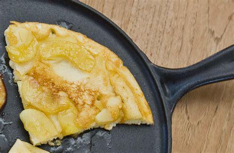 pfann kuchen apfelpfannkuchen rezept einfach