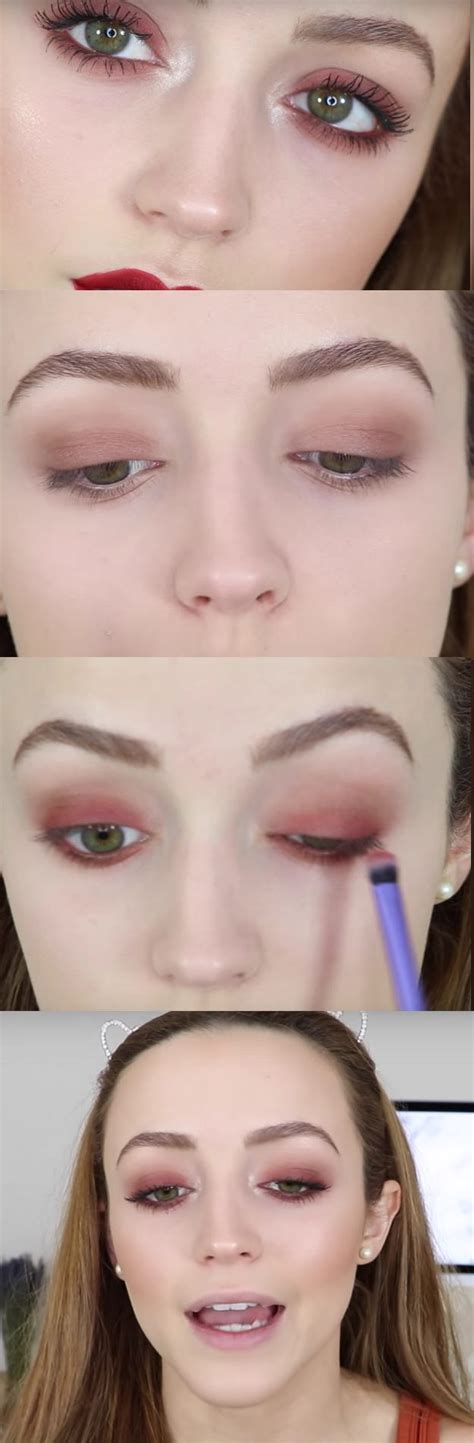 natural makeup tutorial over 50 50 perfect makeup tutorials for green eyes page 8 of 9