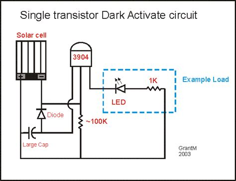 Dark Activated Circuit Tech Reference Pinterest Solar Led Light Circuit