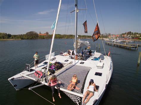 catamaran kite sailing kite catamaran tour kiteworldwide