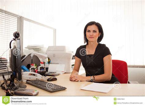 Office Worker At Desk Office Worker At Desk Stock Images Image 30957664