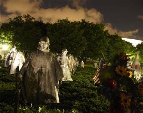 korean war memorial at night dc 2012: vadimraskin