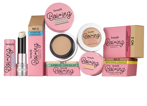 Benefit Cosmetics I Pink I You 1 benefit s boi ing concealer now comes in an airbrush formula