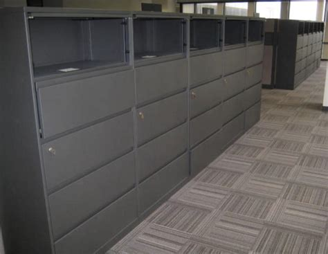 steelcase lateral file cabinet used steelcase 5 36 quot wide lateral file cabinets