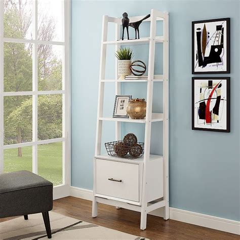 1000 ideas about bookshelf ladder on ladder