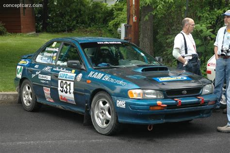 1996 subaru impreza technical specifications and data engine dimensions and mechanical details