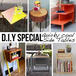 End Table Ideas by 10 Stylish Diy Side Table Ideas Amp Tutorials