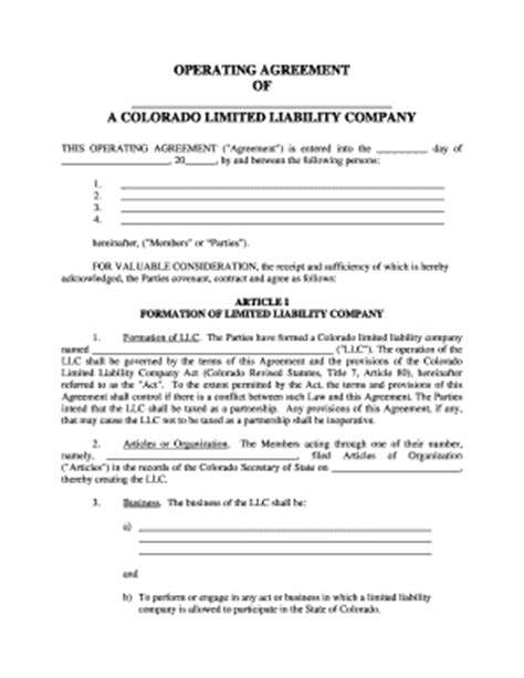 real estate llc operating agreement template blank llc operating agreement fill printable