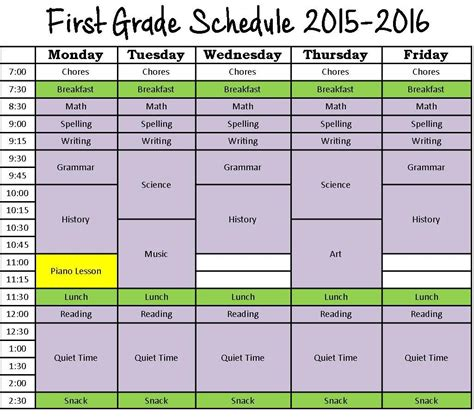 printable daily schedule for homeschool related keywords suggestions for homeschool schedule