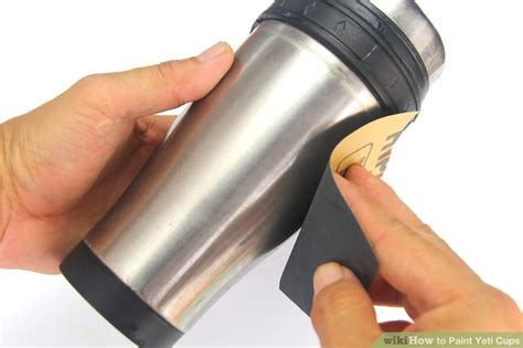 spray paint yeti cup how to paint yeti cups with pictures wikihow
