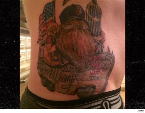 world series tattoo mlb s jonny gomes check out my world series tat