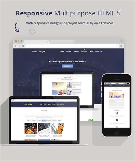 responsive layout animation power energy responsive multipurpose html 5 null themes