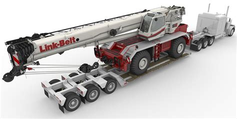 Frame Hyperlink Rt link belt 100 rt terrain crane power equipment company