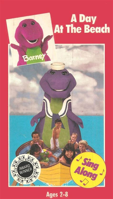 Barney And The Backyard A Day At The by Barney A Day At The Vhs Back To The 90 S