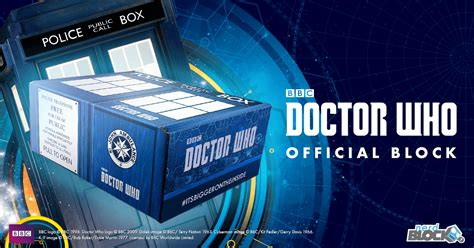 dw paket 03 a box exclusive block announces doctor who official block blogtor who