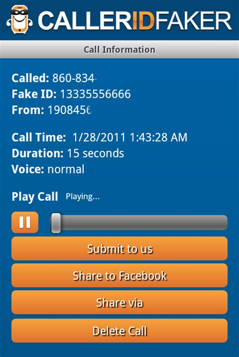 caller id faker apk free caller id faker apk for android getjar