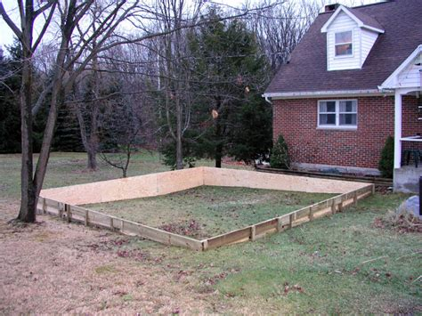 backyard hockey rink plans backyard ice rink on unlevel ground outdoor furniture