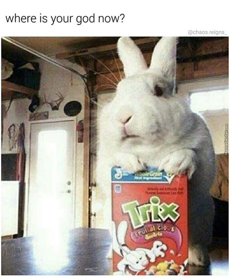 silly rabbit meme silly rabbit tricks are for wait by patisnotaduck