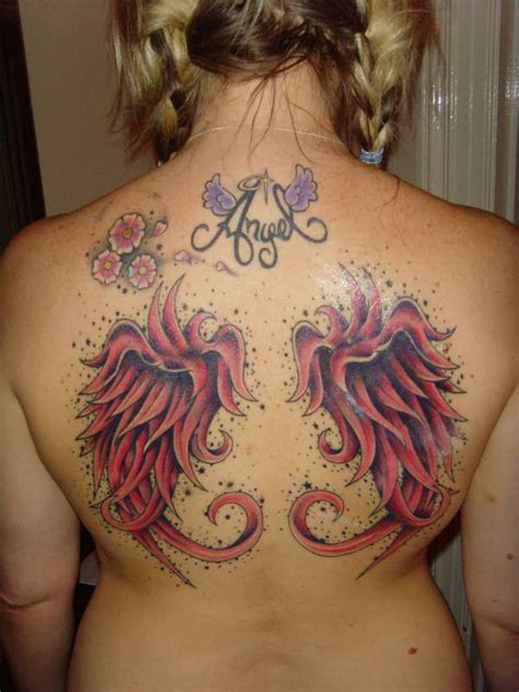 red wings tattoo wings