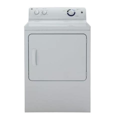 ge 7 0 cu ft electric dryer in white gtdp220efww the